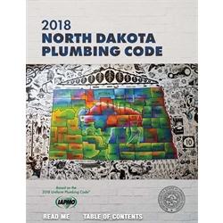2018 North Dakota State Plumbing Code w/Tabs