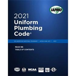 2021 Uniform Plumbing Code Soft Cover w/Tabs