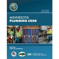 2020 Minnesota Plumbing Code