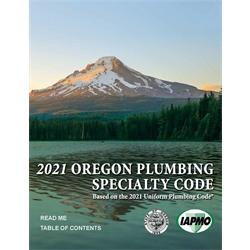 2021 Oregon Plumbing Specialty Code