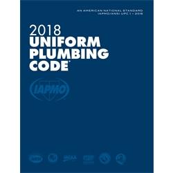 2018 Uniform Plumbing Code Soft Cover w/Tabs